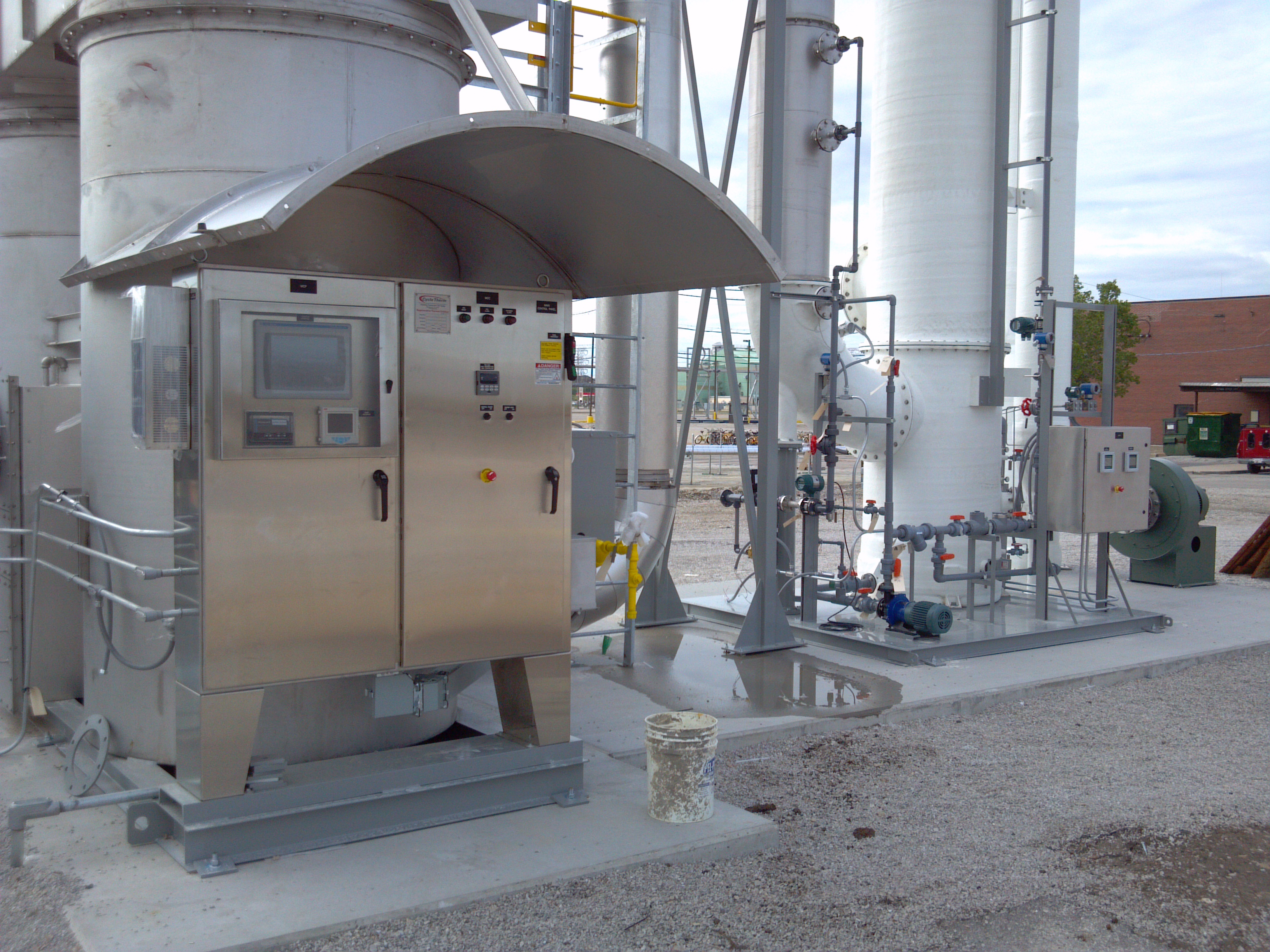 Thermal Soil Vapor Extraction System in Midwest